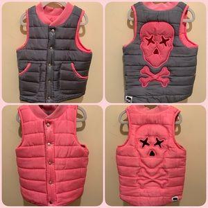Reversible puffer vest- Super cute & Unique🔺